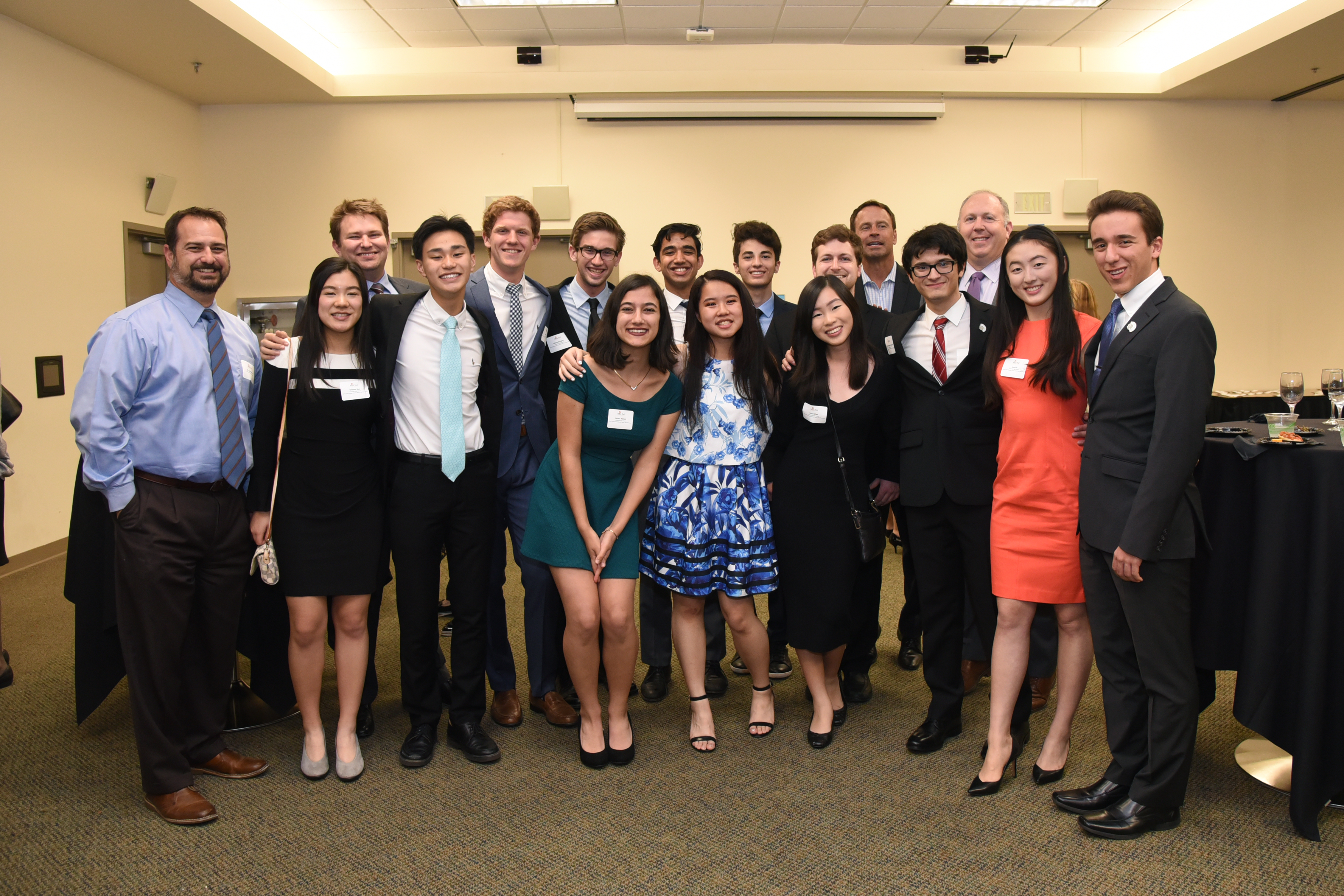 On February 8th CRF OC Held Its Annual Awards Reception Celebrating The Students And Volunteers Of Orange County High School Mock Trial Competition